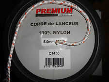 3m LENGTH OF 5mm NYLON PULL CORD RECOIL STARTER ROPE
