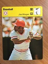 Joe Morgan 1977 -79 Sportscaster Cincinnati Reds HOF er Card Houston Astros