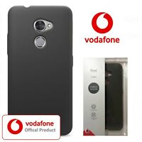 Official Vodafone V8 Feel Case Tough Slim Smart Black Shockproof Back Cover
