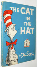THE CAT IN THE HAT!(FIRST EDITION!1957)Dust Jacket Dr.Seuss Children Fairy Tale