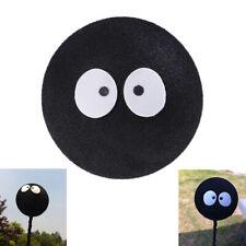 1x Black Face Coal Briquettes Ball Car Antenna Pen Topper Aerial Ball Decor _nJ7
