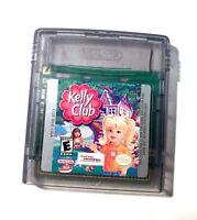 Kelly Club, Barbie - Original Nintendo GameBoy Color Game Tested Working!