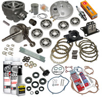 kit pack haut moteur Am6 moto Husqvarna Ch racing Sm Cross 50CC 2t complet neuf