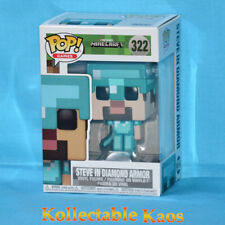 Minecraft - Steve in Diamond Armor US Pop Vinyl Figure Funko