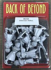 Back of Beyond Siberian Rifles (10) 28mm Copplestone Castings New!
