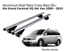 Aluminium Roof Rack Cross Bars fits KIA GRAND CARNIVAL VQ with rails 01/06-01/15
