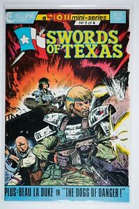 Swords of Texas 1 of 4 (1987 Marvel Comics) VF/NM Will Combine Shipping