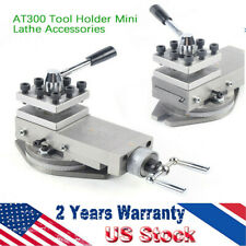 �Upgrade】1*At300 lathe tool post assembly Holder Metalworking Mini Lathe Part