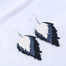 Fashion Elegant Wood Earring Drop Dangle Stud Earrings Women Earring Jewelry