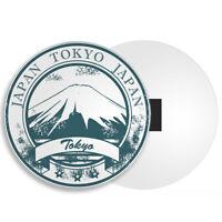 "Visit Osaka Castle Japan Photo Fridge Magnet Travel Souvenir 2/""x3/"""