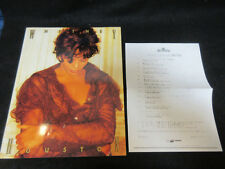 Whitney Houston 1993 Japan Tour Book Concert Program w Expected Set List Paper