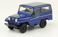 Ika Jeep 1964 Argentina Air Force Rare Diecast Scale 1:43 New Sealed + Magazine