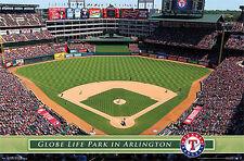 Texas Rangers GLOBE LIFE PARK GAMEDAY Official MLB Baseball Wall POSTER