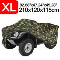XL Camouflage Quad Waterproof ATV Storage Cover For Polaris Honda Yamaha Can-Am