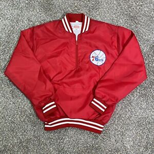 Vintage Chalk Line Philadelphia 76ers Jacket Fits M Owens/Corning Fiberglass