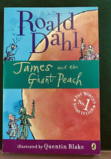 James and the Giant Peach by Roald Dahl Children's Paperback Book