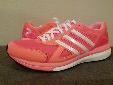 Adidas Adizero Tempo Boost Women's Running Shoes B40611 Flash Red - Size 8.5