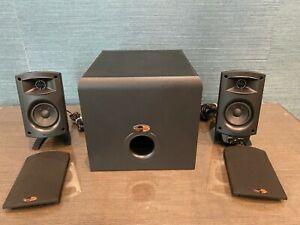 Klipsch ProMedia 2.1 THX Premium Desktop Computer Speaker System Gaming speakers