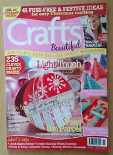 Crafts Beautiful magazine vol 14 issue 3 Christmas Special 2006 Christmas ideas