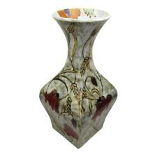 More details for  black ryden fields of gold design 30cm vase  birthday anniversary gifts