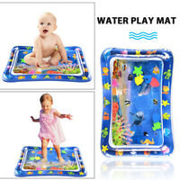 Baby Kids Water Play Mat Inflatable Tummy Time Playmat for Toddler Infant Child