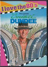 Crocodile Dundee (DVD, 2008, Widescreen, I Love the 80s - BONUS CD)