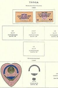 TONGA LOT / COLLECTION OF 24 STAMPS