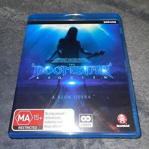 Metalocalypse The Doomstar Requiem A Klok Opera Anime Blu-ray CD