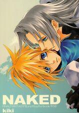 Final Fantasy 7 VII FF7 FFVII YAOI Doujinshi Dojinshi Sephiroth x Cloud Naked
