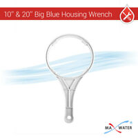 """Max Water Big Blue Whole House 10""""x4.5"""" &  20""""x4.5"""" Filter Housing Wrench Opener"""