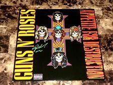 Guns N' Roses Signed Vinyl Record Steven Adler Appetite For Destruction Adler's