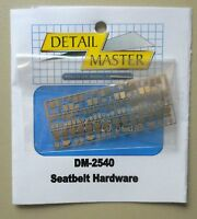 SEAT BELT HARDWARE 1:24 1:25 DETAIL MASTER CAR MODEL ACCESSORY 2540