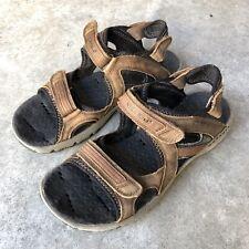 Merrell Cambrian Strap $159 Men's Sport Sandals Vibram Brown Leather 9