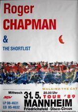 CHAPMAN, ROGER - 1989 - Konzertplakat - Concert - Tourposter - Mannheim
