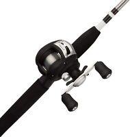 Shakespeare Alpha Medium 6' Low Profile Fishing Rod and Bait Cast Reel Combo (2