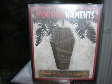 HorrorNaments Old Coffin Halloween Christmas Tree Ornament Decoration