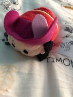The Disney Store Mini Tsum Tsum Plush Soft Toy Peter Pan Captain Hook Small