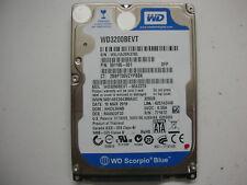 """WD Scorpio Blue 320gb WD3200BEVT-60A23T0 2061-771672-004 03PD2 2,5 """" SATA"""