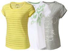 Crivit Damen Shirt Fitness Sportshirt Wellness Top T-Shirt Funktionstop Yoga