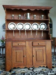 Dollhouse Miniature Artisan Gary Larson Kitchen Cabinet Signed Steiff Pewter Lot