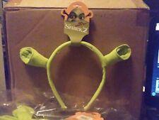 """Shrek 2 Ears Costume Headband Officially Licensed Item """"100% Authentic Ogre"""" New"""