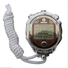 Vintage Digital Stopwatch Metal Sports Chronograph Countdown Stop Watch Timer