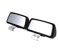 1x Adjustable Car Side Blind Spot Mirror Wide Angle Rear View Safety Reversing