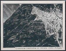 EX- LIBRIS  - BOLZANO  : Colonne nemiche in ritirata - Alto Adige