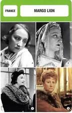 FICHE CINEMA :  MARGO LION -  France (Biographie/Filmographie)