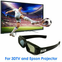 Active Shutter 3D Glasses for Samsung Sharp Sony 3DTV Epson 3LCD Projector AU