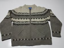 Pendleton Western Aztec Snowflake Virgin Wool Jacket Medium