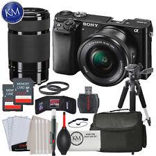 Alpha a6000 Mirrorless Digital Camera+16-50mmLens,55-210mmLens, Advance Bundle