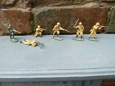 Airfix Japanese Soldiers Hand Painted x 6
