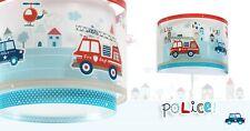 LED Baby Kinder Zimmer Hänge Pendel Lampe Feuerwehr 60612 Polizei Police Nacht-L